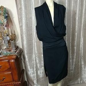 HELMUT LANG Wrap Style Dress/ FINAL SALE